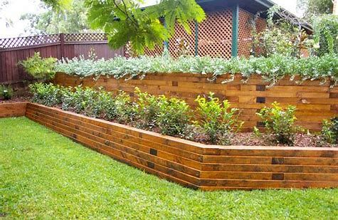 60 Best Landscape Timber Ideas For Your Dream Lawn Landscaping
