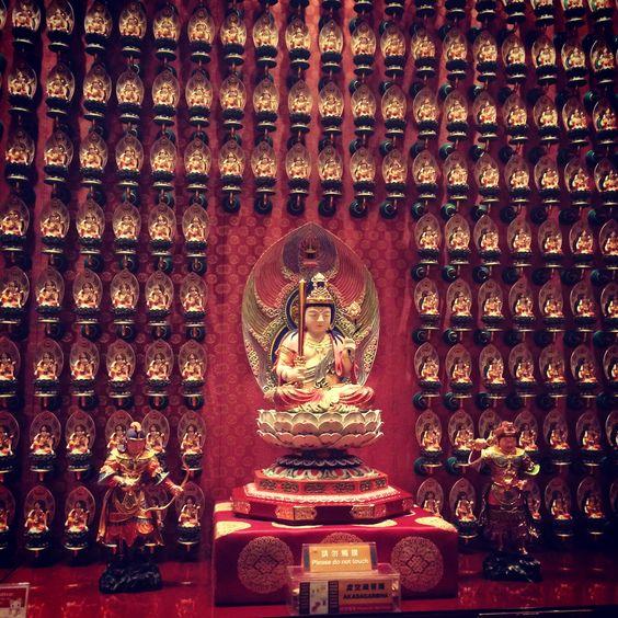 Buda temple Singapur