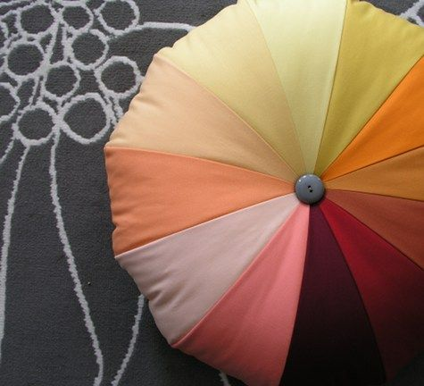 how to make a pouf tutorial