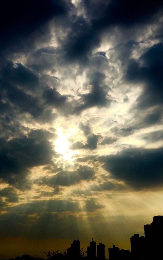 Cielo de Viernes Santo, ciudad de Panamá