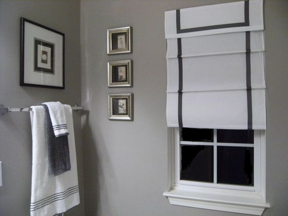 Sherwin Williams Pearl Gray Gray Wall Painted In