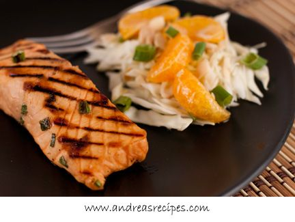 Andrea's Recipes - Miso Grilled Salmon