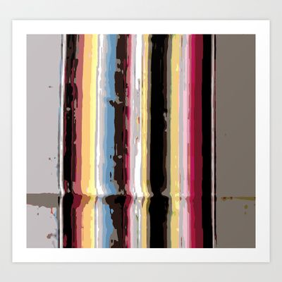 Dark serape Art Print by Deb Haugen - $18.00