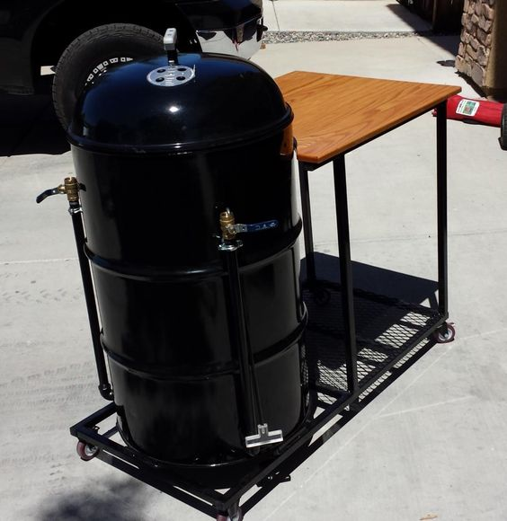 drums smokers and drum smoker on pinterest. Black Bedroom Furniture Sets. Home Design Ideas