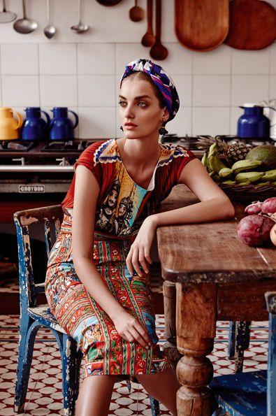 .amo el estilo etnico ,sobre todo el mexicano