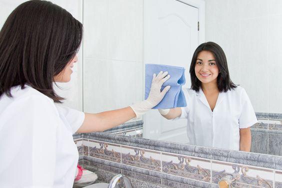 Dicas: Limpar Espelhos