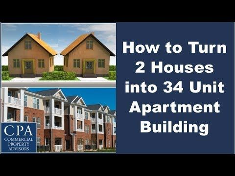 Learn How To Turn 2 Houses Into 34 Apartment Units And Convert The Equity Of Your Single Family Home Investments Into Multi F Sale House Home Loans Real Estate