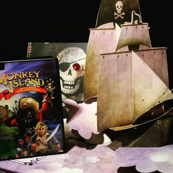 Piraten! Peter Pan und Monkey Island - Heute ist der 'sprich wie ein pirat' tag.  Also ihr landratten, mit welchem piraten würdet ihr gerne mal in See stechen?