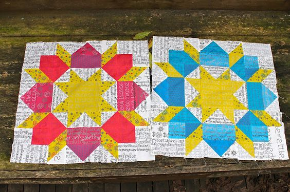 Bea Spoke Quilts: Fabric choices in recent quilts