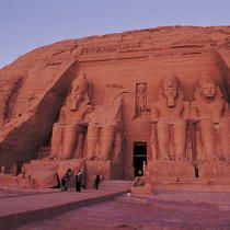 Ramses Temple at Abu Simbel, Egypt