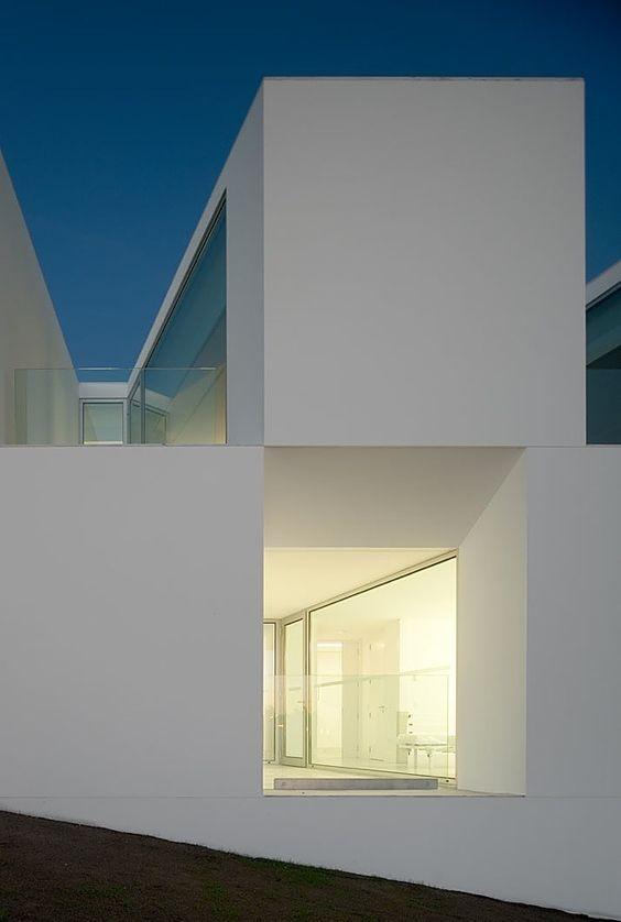 *modern architecture, white, minimalism* - aires mateus