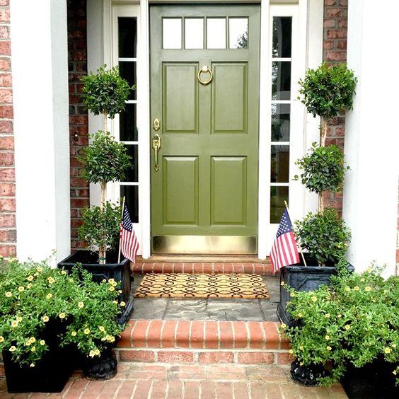 Green Front Doors: Clarks, Green Front Doors And New Adventures On Pinterest
