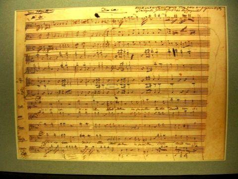 Mozart Sheet Music - Wolfgang Amadeus Mozart - Wikipedia ...