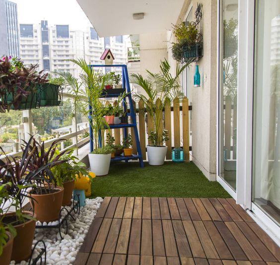 6 excelentes ideias DIY para a decoração da varanda! - Homify: