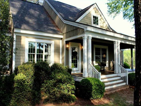 Spring exterior southern living french country house plans for Southern french country house plans
