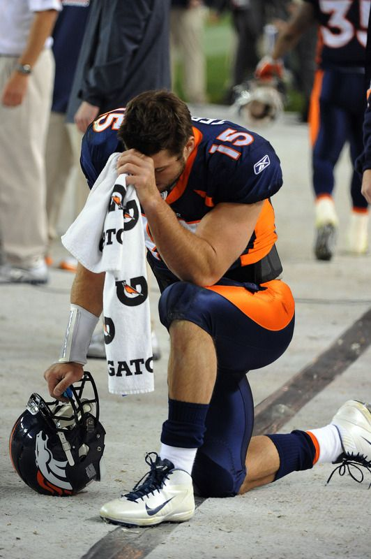 Tebow does the Tebow. Broncos beat the Jets