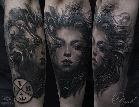 Ink tattoo by Olggah.deviantart.com on @DeviantArt