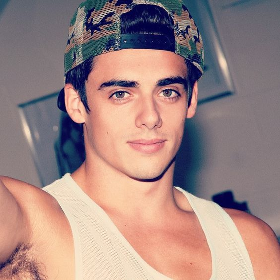 Chris Mears by Pantelis in behind the scenes of the editorial for Coitus Issue 6