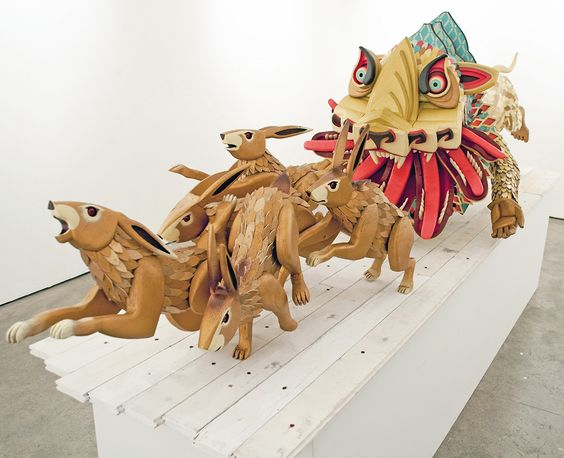 Time kills all Gods ll sculptural works by AJ Fosik