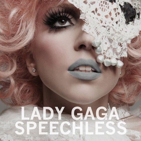 Lady Gaga – Speechless (single cover art)
