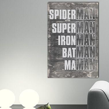 Tableau citation en bois id al pour la d coration de votre maison appartemen - Tableau deco pour bureau ...