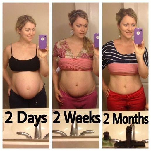 consejos para bajar el abdomen después del parto