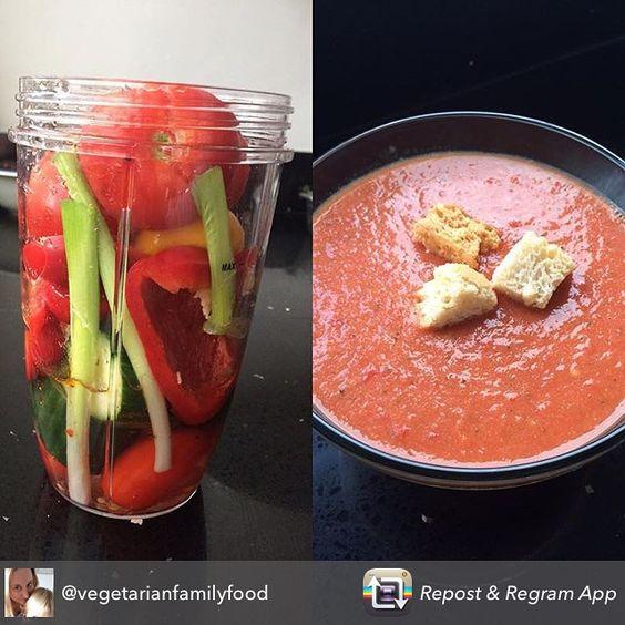 Tomato soup nutribullet