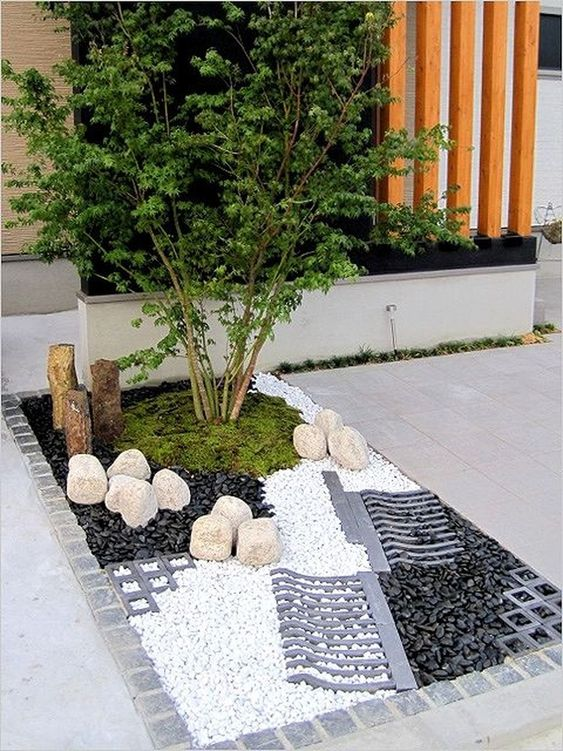 44 Pretty Small Rock Gardens Ideas
