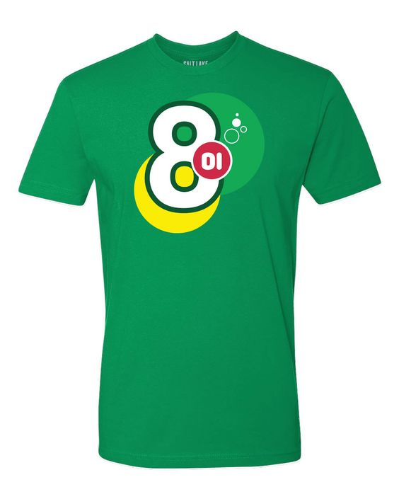 Bubbly 801 T-shirt