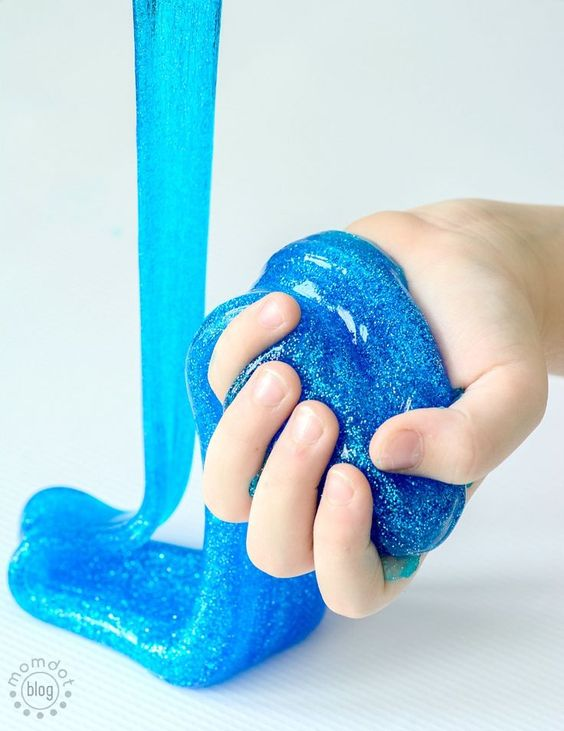 how to make slime with 2 ingredients uk