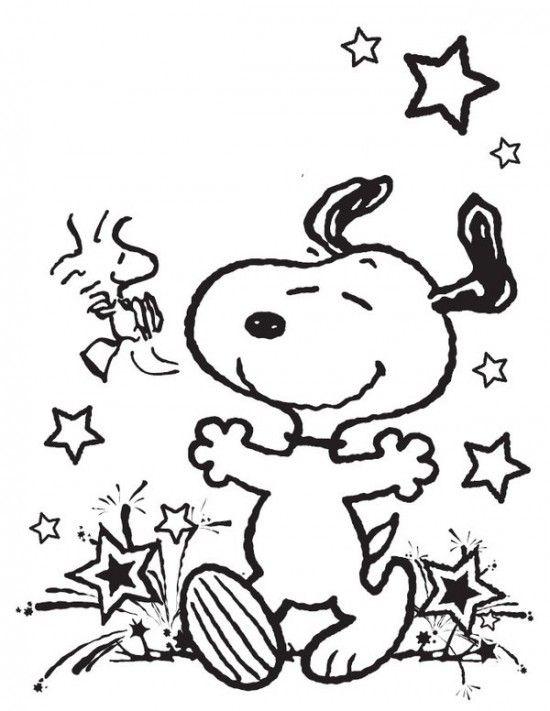 Ausmalbilder Snoopy Malvorlagen Einfach Snoopy Malvorlagen