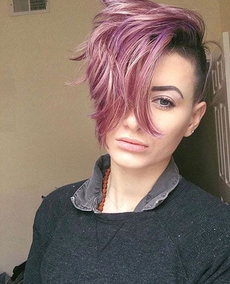 Pin Auf Lavender Hair