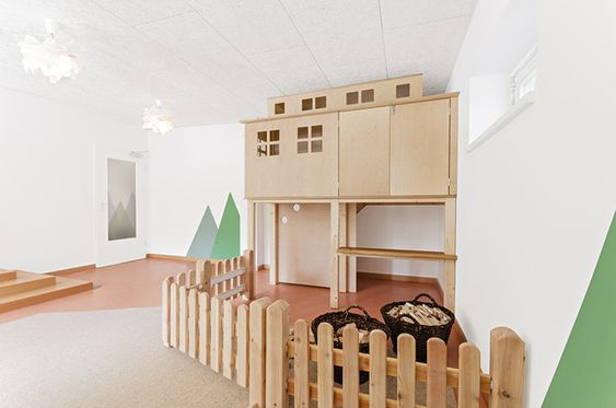 Beautiful Day Care Interior in Simple and Natural Design by - wohnideen aktie kindergarten