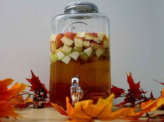 Apple Cider Fireball Sangria