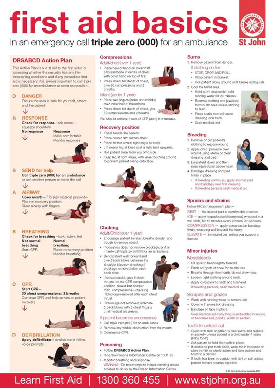 Printable First Aid Poster | LPT: If you have a smartphone, make a separate album in your photos ...