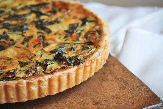 chard tart   Galettes & Tarts   Pinterest   Vegetable Tart, Tarts and ...