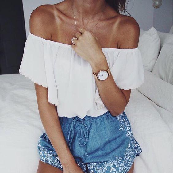  'Girls just wanna have sun.' Summery outfit inspiration by @lindsaymarcella   #kaptenandson #bekapten #ootd