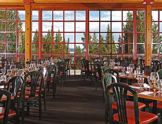 Lake Yellowstone Hotel Dining Room Classy Design Ideas