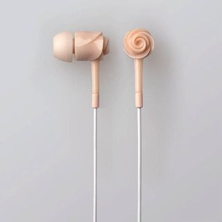 ELECOM EARDROPS ROSE - Bloom - cute headphones for my ipod
