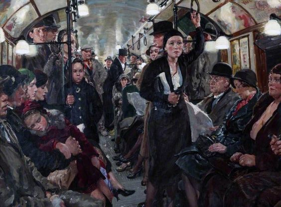 Underground by Thomas Cantrell Dugdale 1932