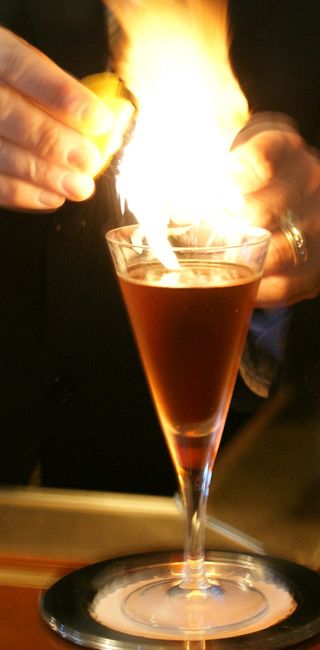 Occidental's Larry's Negroni (DC). Click for recipe.