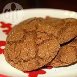 Biscoitos de gengibre II @ allrecipes.com.br