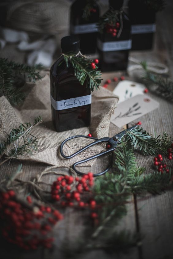 Local Milk | A Local Milk Christmas: Balsam Fir Syrup + Fennel Rosemary Cookies