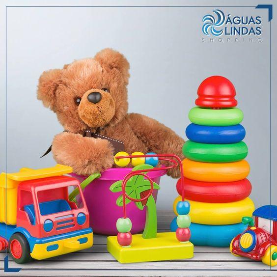 Os brinquedos mais descolados estão na Cia Toy do Águas Lindas.