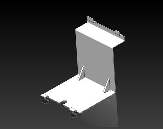 Sheet Metal W Tabs Amp Ribs Solidworks Pinterest