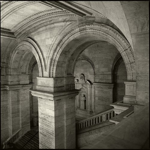Inside the Stephen A. Schwarzman Building on Fifth Avenue