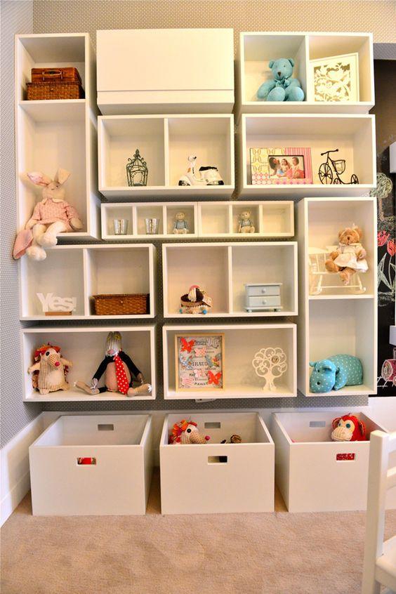 ... com nichos id?ias nichos nichos quarto infantil organiza??o
