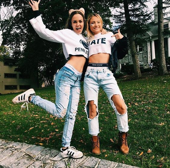 10 Adorable Gameday Outfits At Penn State You Need To Copy