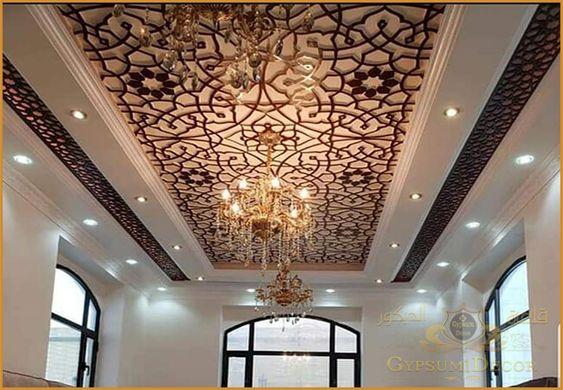 اشكال جبس بورد 2021 Ceiling Lights Modern Decor Interior Design