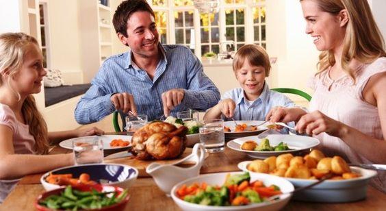 családi vacsora